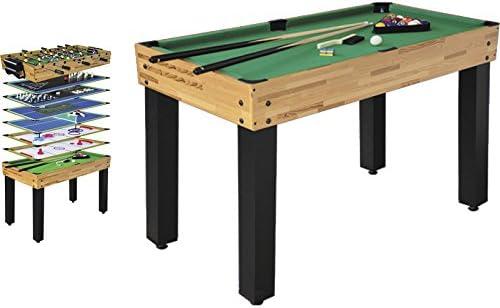 XTURNOS Mesa multijuegos 12 EN 1 de 124X61X81 CM: Amazon.es: Juguetes y juegos