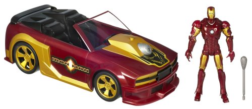 Amazon Com Iron Man Sports Car Figure Toys Games