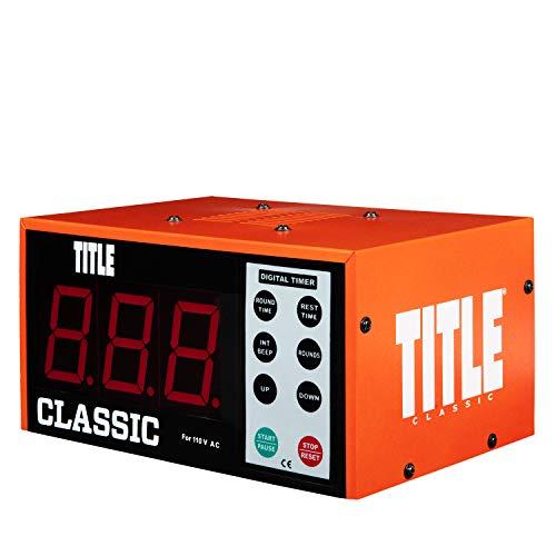 Title Classic XL Digital Gym Timer