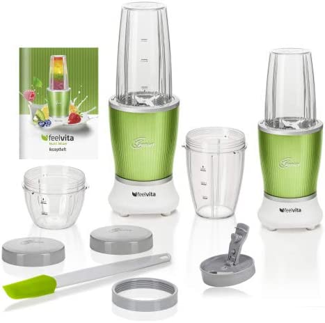 Genius Feel Vita NUTRI Licuadora + NUTRI Licuadora Smart | 15 ...