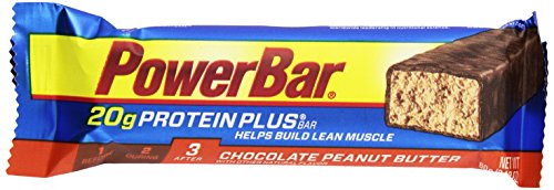 PowerBar Protein Plus Bar, Chocolate Peanut Butter, 1 Count