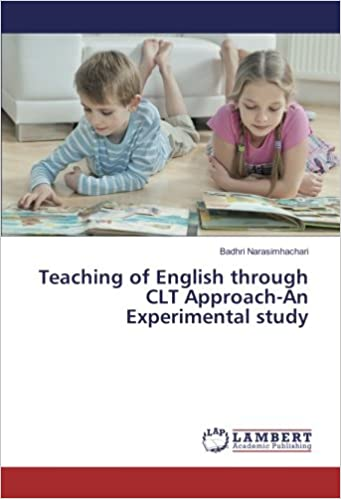 Book Teaching of English through CLT Approach-An Experimental study