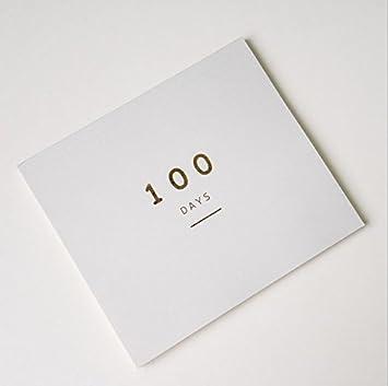 100 días personales Organizador Cuaderno, incluso ...