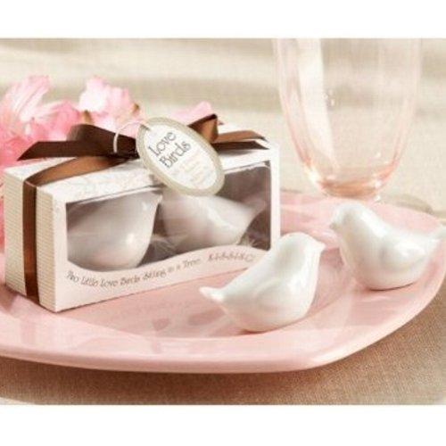 Lovebirds in the Window Ceramic Salt & Pepper Shakers (pack of 50 sets)