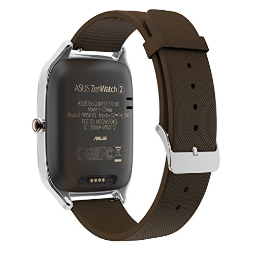 "ASUS ZenWatch 2 , WI501Q-SR-BW-Q , 1.63"" Smartwatch Silver ..."