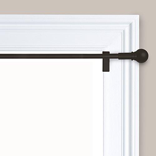 Maytex Twist and Shout Smart Window Hardware Rod, 48-84-Inch, Oil Rubbed Bronze