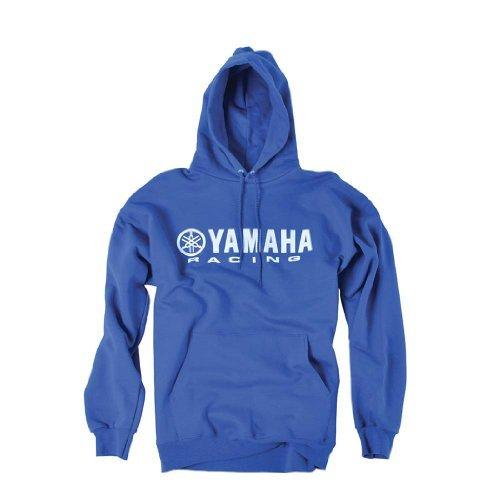 Factory Effex 12-88434 'Yamaha' Hooded Pull-over Sweatshirt (Blue, X-Large) ()