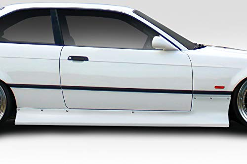 Extreme Dimensions Side Skirts - Duraflex Replacement for 1992-1998 BMW 3 Series M3 E36 C Spec Side Skirts - 2 Piece