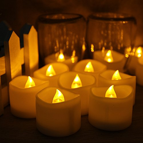 Outdoor Flickering Candle Light Bulbs - 9