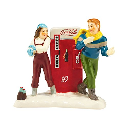Department 56 Snow Village Coke Adds Life Accessory Figurine, 3.43
