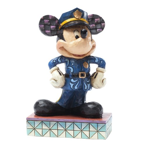 Enesco Disney Traditions by Jim Shore Policeman Mickey Figurine, 4.375-Inch
