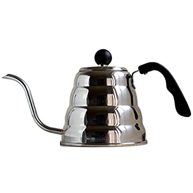Pour Over Coffee Drip Kettle - Gooseneck Coffee Maker Pot - Brew Coffee or Tea