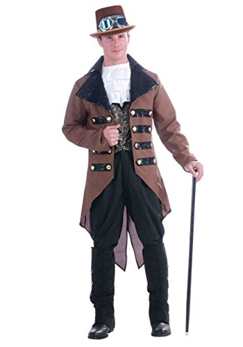 Adult Steampunk Jack Costumes (Adult Steampunk Jack Costume - Fits up to 42 inch chest)