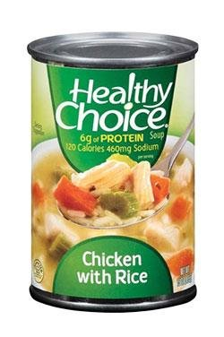 Healthy Soup Chicken With Rice 15OZ (Pack of 24) by Healthy Choice