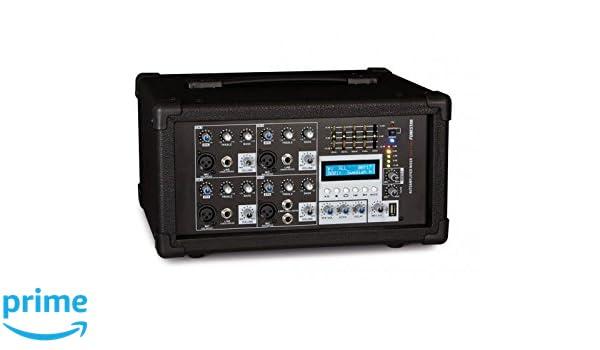Fonestar sma-154u 4 canales 20 - 20000 Hz negro mesa de mezclas ...
