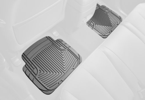 Weathertech 2005 Lincoln Aviator - WeatherTech All-Weather Trim to Fit Rear Rubber Mats for Select Models (Grey)