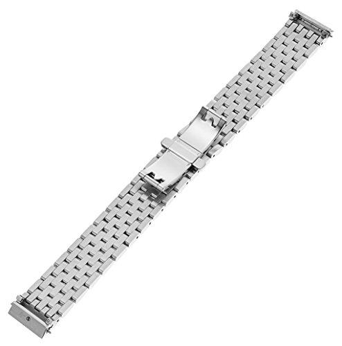 MICHELE MS16DL235009 Urban Mini 16mm Stainless Steel Silver Watch Bracelet