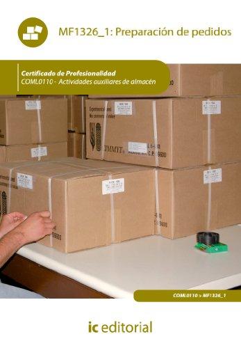 Descargar Libro Preparación De Pedidos. Coml0110 Álvaro Torres Rojas