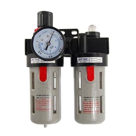 Unidad de Tratamiento de Aire Fuente eDealMax BFC3000 presión ajustable - - Amazon.com