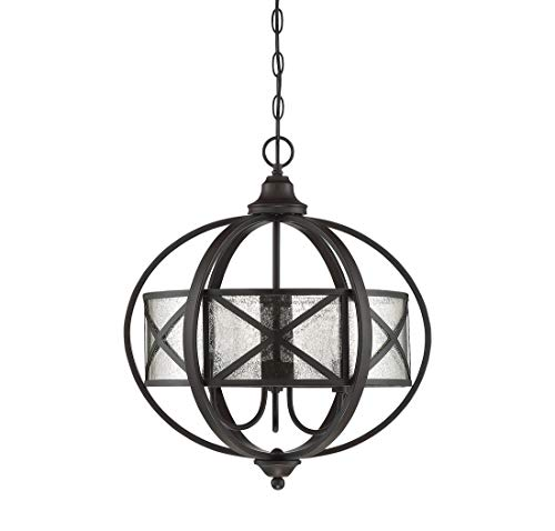 Savoy House Holland 19 inch 3-Light Pendant in English Bronze