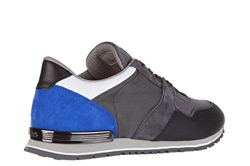 Tods Zapatos Zapatillas de Deporte Hombres EN Piel Nuevo Spoiler Gris