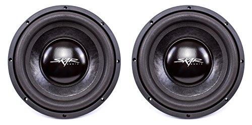 (2) Skar Audio IX-10 D4 10″ 400W Max Power Dual 4 Subwoofer