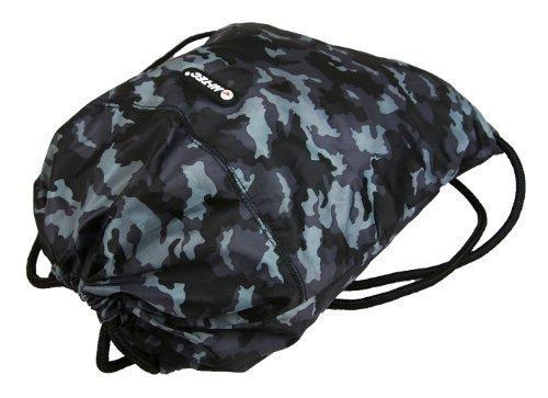 New Boys Mens Camo Hi Tec Gym Swimming School College Trainers Pumps Drawstring Bag Grey Camo
