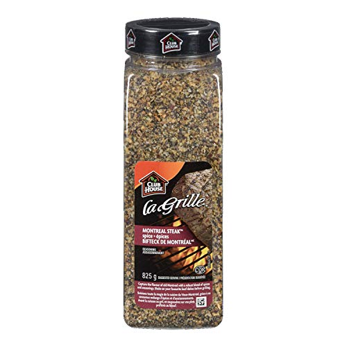 Club House La Grille Montreal Steak Spice, 825 Grams/29.10 Ounces {Imported from Canada}
