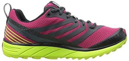 Zapatillas De Running Para Mujer Pearl Izumi Em Trail N2 V2 Cerise / Lime Punch