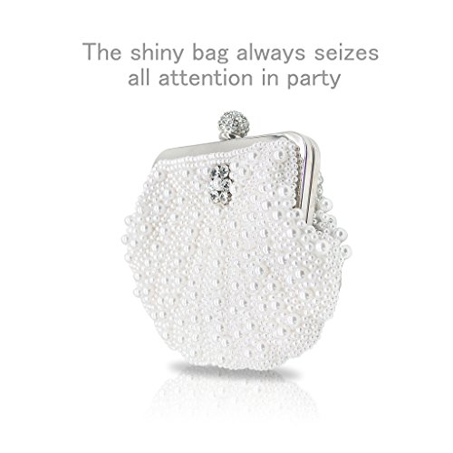 King Purse for Ladies Bag Women Eye Artemis'Iris Purse Bling Diamante 2016 Flower of Handcrafted Bags Evening Crystal Party Luxury Full Silver Catching Clutch Clutch Purses wqSYSB1x