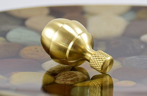 Yakima BRASS Spinning Top - Precision CNC Made in the USA by NW TOPS (Image #1)