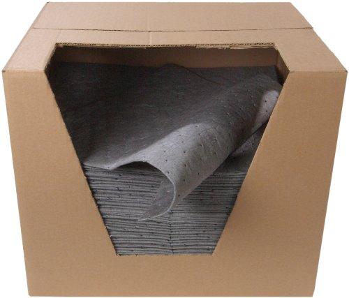 ESP XMBGPF Polypropylene Extra Heavy Weight Meltblown Fine Fiber Maintenance Universal Absorbent Pad, 18