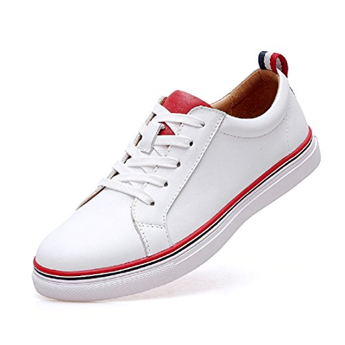 Hexiaji 24cm-26.5ccm Man Shoes Sneaker White Black