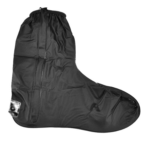 Rain Gear Motorcycle Boot Shoes Cover Gaiter Anti Slip Sole Side Zippered US Men Size 12-13