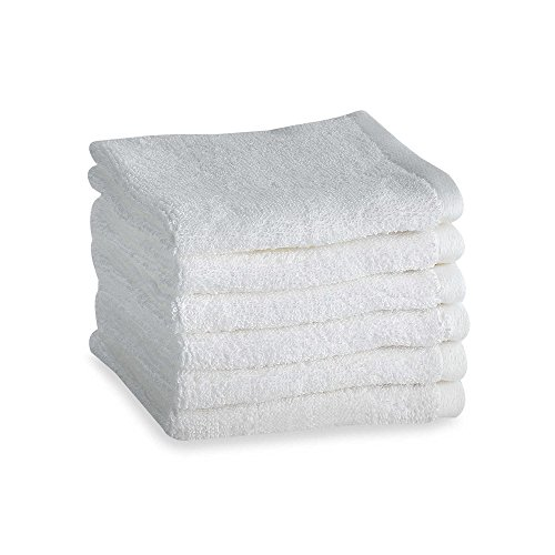 Tranquility Washcloths in White (Set of - Set Tranquility