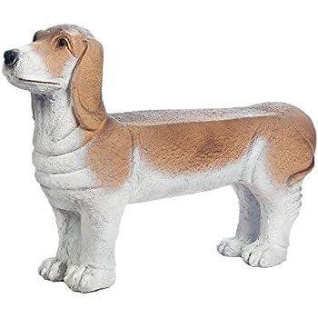 Amazon Com Larger Than Life Dachshund Dog Bench Garden
