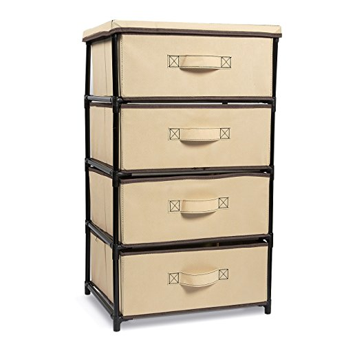 Juvale Clothes Storage Organizer Drawers for Closet amp Bedroom  33 in