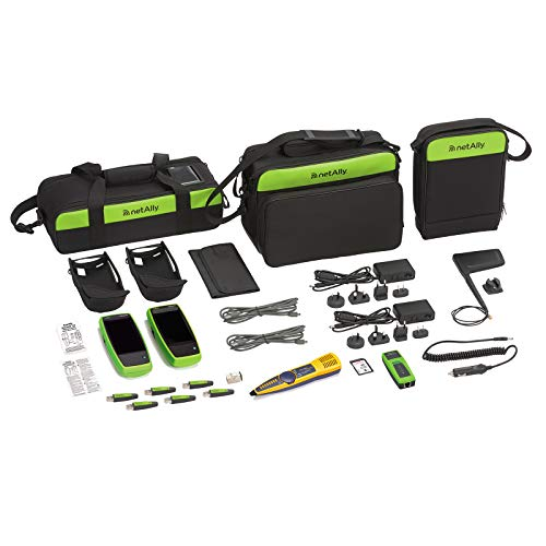 NetAlly LR-G2-ACKG2-CBO Network Tech Troubleshooting Kit with LinkRunner G2 Smart Network Tester and AirCheck G2 Wireless Tester plus accessories