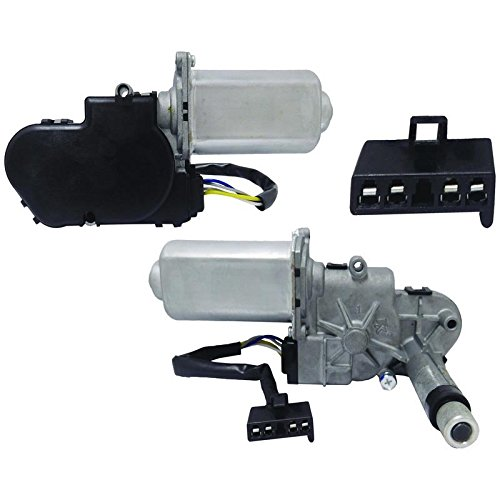 (New Rear Wiper Motor For Chevy C K Blazer Suburban, Replaces GM 12365396, 22121535, 22154964)