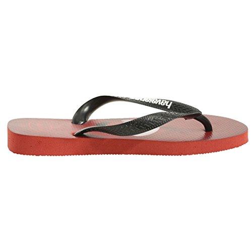 Amazon.com | Havaianas Mens Mario Bros Ruby Red Flip Flops Sandals Shoes Sz: 13 | Sandals