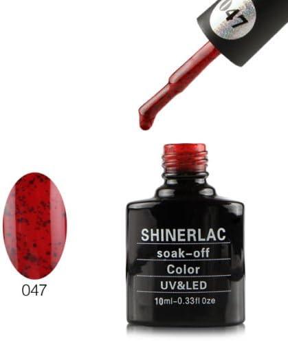 Shin erlac UV LED Gel auflösbarer esmalte de uñas – SH047, 1er Pack (1 x 10 ml): Amazon.es: Belleza