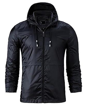 Generic Men's Fashion Stylish Light Weight Hoodie Jackets Windbreaker Coat