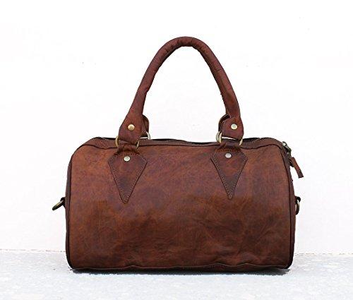 Pascado Handmade Leather top handle purse crossbody everyday satchel shoulder bag women's handbag