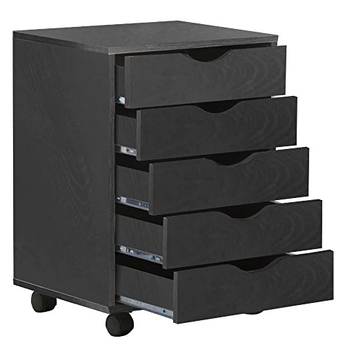 go2buy-5-drawer-file-storage-cabinet-on-removable-caster-wheels-black