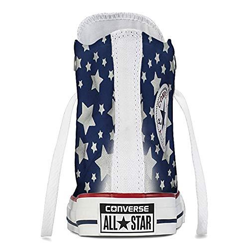 Blanc All Star Bianco Taylor Sneaker Chuck Femme Baskets Hi Converse pour g4zEqPxwU