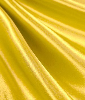 Yellow Satin Fabric - by the Yard by Online Fabric Store   B00I80GWMY