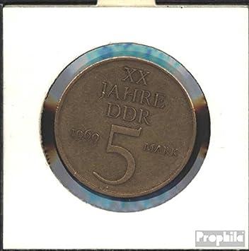 Ddr Jägernr 1524 1969 Sehr Schön Nickelbronze 1969 5 Mark 20 Jahre