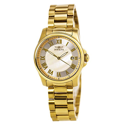 Invicta Angel Mother of Pearl Dial Stainless Steel Ladies Watch 15235 [Watch]...