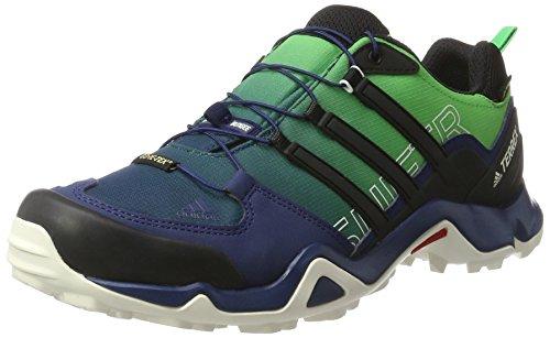 adidas Terrex Swift R Gtx, Zapatos de Senderismo para Hombre Azul (Blu Azumis/negbas/verene)