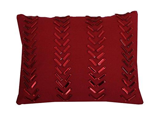 Thro by Marlo Lorenz Dora Gemstone Pillow, 12 by 15-Inch, Ch